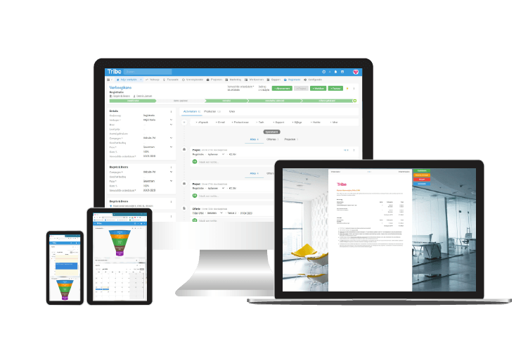 einfaches CRM system