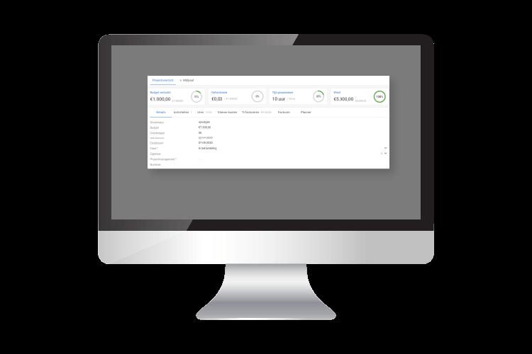 übersicht Kunden- und projectdatei